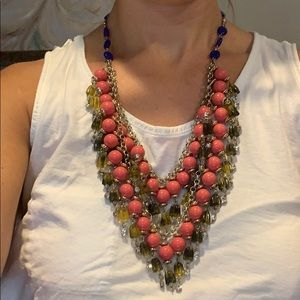 J.Crew Layered Beaded Necklace